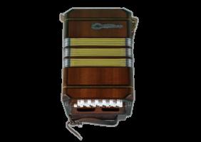 Бандонеон коричневый